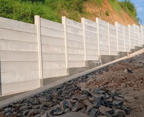 Pagar Beton Semarang